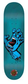 "Santa Cruz Pro Deck Screaming Hand Seven Six 7.6"""