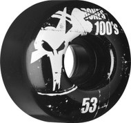 Bones Wheels - OG 100's V4 Black