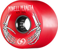 Powell Peralta WheelsATF 78A 69mm Red