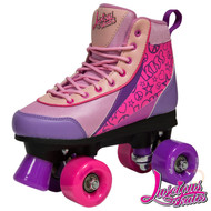 Luscious Retro Quad Skates - Pure Passion