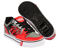 Heelys Motion Plus - Red/Black/Grey/Skulls