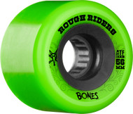 Bones Wheels Rough Rider ATF - Green - 56mm