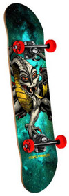 Powell Peralta Complete Cosmic Green Cab Dragon