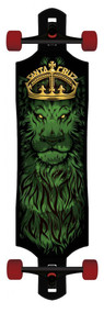 Santa Cruz Lion God Tie Dye Drop Thru Longboard