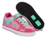 Heelys X2 Thunder - Berry/Light Pink/Mint