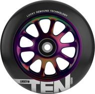 Lucky Ten 110mm Wheels - Neo Chrome / Black