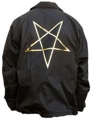 Thrasher Jacket Pentagram Coach - Black
