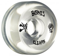 Bones Wheels - SPF Clears - Clear 58mm