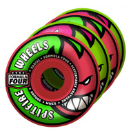 Spitfire Formula Four Wheels	Neuro Melon Mash Radial 99DU - Pink/Green - 52MM