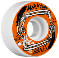 Bones Wheels - STF Wray Quill V3 - White - 54  MM