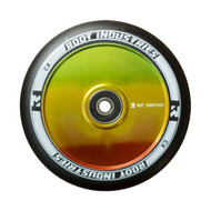 Root Industries 110mm Air Wheels - Pair -  Black on Rasta