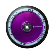 Root Industries 110mm Air Wheels - Pair - Black on Purple