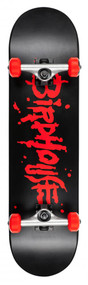 Birdhouse Complete Stage 2 - Blood Logo - Black/Red - 8  IN