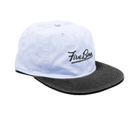 5Boro - Script Six Panel Adjustable Hat - Washed Blue