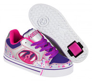 Heelys Motion Plus - Silver/Pink/Purple/Drip