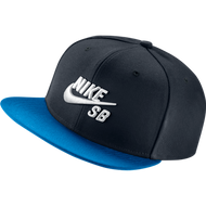 Nike SB Snapback Hat - Black / Blue