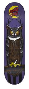 "Santa Cruz Pro Deck - Asta Owl - 8"""