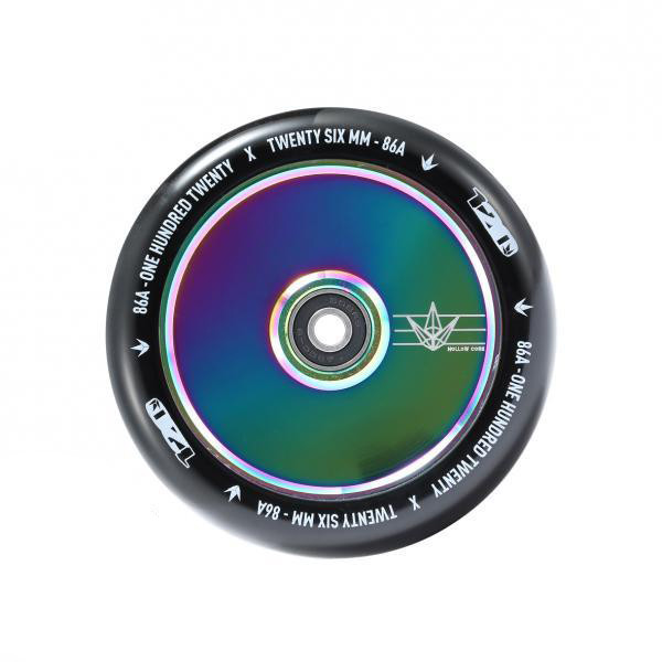 Blunt Envy Hollow Core 120mm Wheels - Neo Chrome