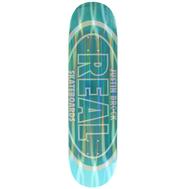 "Real Skateboard Deck - Justine Brock Holo Oval - 8.06"""