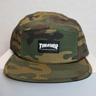 Thrasher 5 Panel Cap - Camouflage
