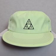 HUF Formless Triple Triangle 6 Panel Hat - Lime