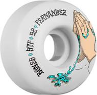 Bones Wheels - STF Fernandez Prayer V1 - White - 52  MM