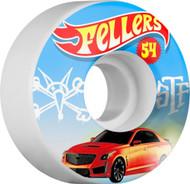 Bones Wheels - STF Fellers Hot Wheel V3 - White - 54  MM