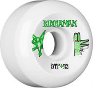 Bones Wheels - STF Bingaman Burney V5 - White - 53  MM