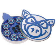 Pig Abec 3 Blue Bearings