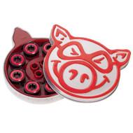 Pig Abec 5 Red Bearings