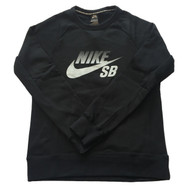 Nike SB Fade Crew Sweatshirt - Black