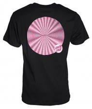 Santa Cruz Spiral Dot Tee - Black