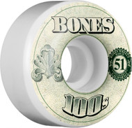 Bones Wheels OG 100's #11 V4 - 51mm
