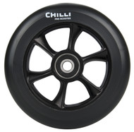 Chilli Turbo Scooter Wheel 110mm Black/Black