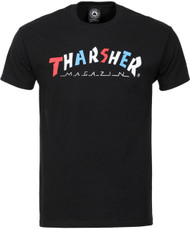 Thrasher Magazine - Knock Off Tee - Black