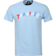 Thrasher Magazine - Knock Off Tee - Light Blue
