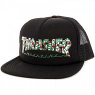 Thrasher Roses Mesh Hat - Black