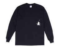 Ripndip Hang In There Long Sleeve Tee - Black