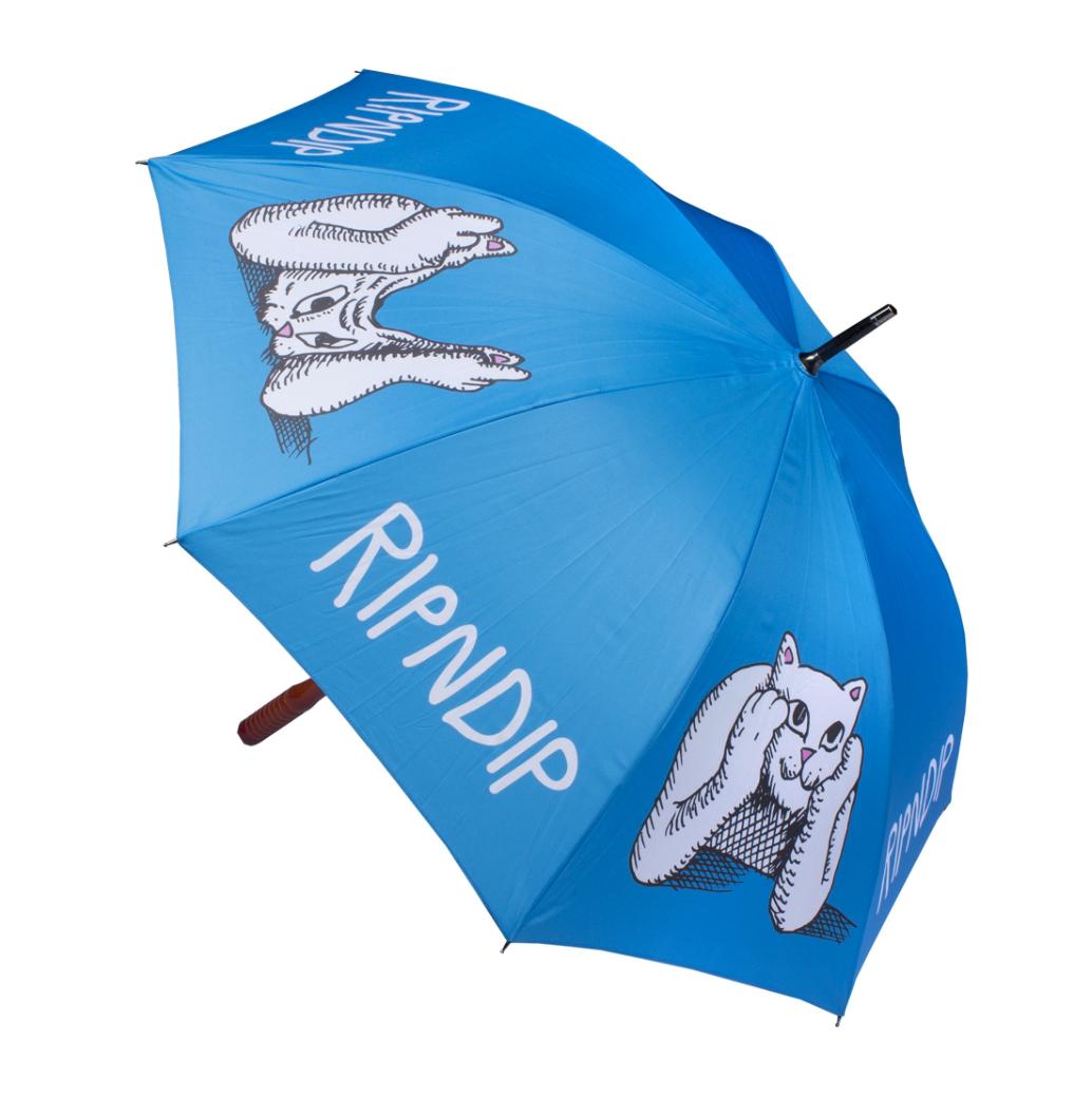 0709ee9cd7c Ripndip - Stoner Umbrella - Blue - The Boardroom