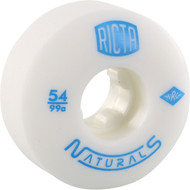 Ricta Wheels Naturals White / Blue Skateboard Wheels - 54mm 99a
