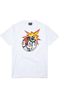 The Hundreds X Animaniacs - AniAdam Bomb T-Shirt - White