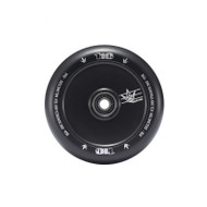 Blunt Wheel 110 MM Hollow Core  - Black
