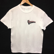 The Boardroom Logo Tee - White / Pink