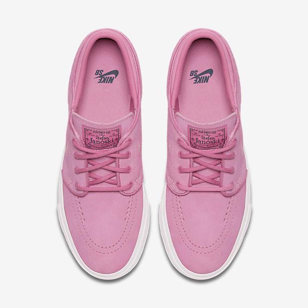 78443ae201cd Nike SB Zoom Stefan Janoski Older Kids Skateboarding Shoe - Pink. Price   £37.95. Image 1. Larger   More Photos
