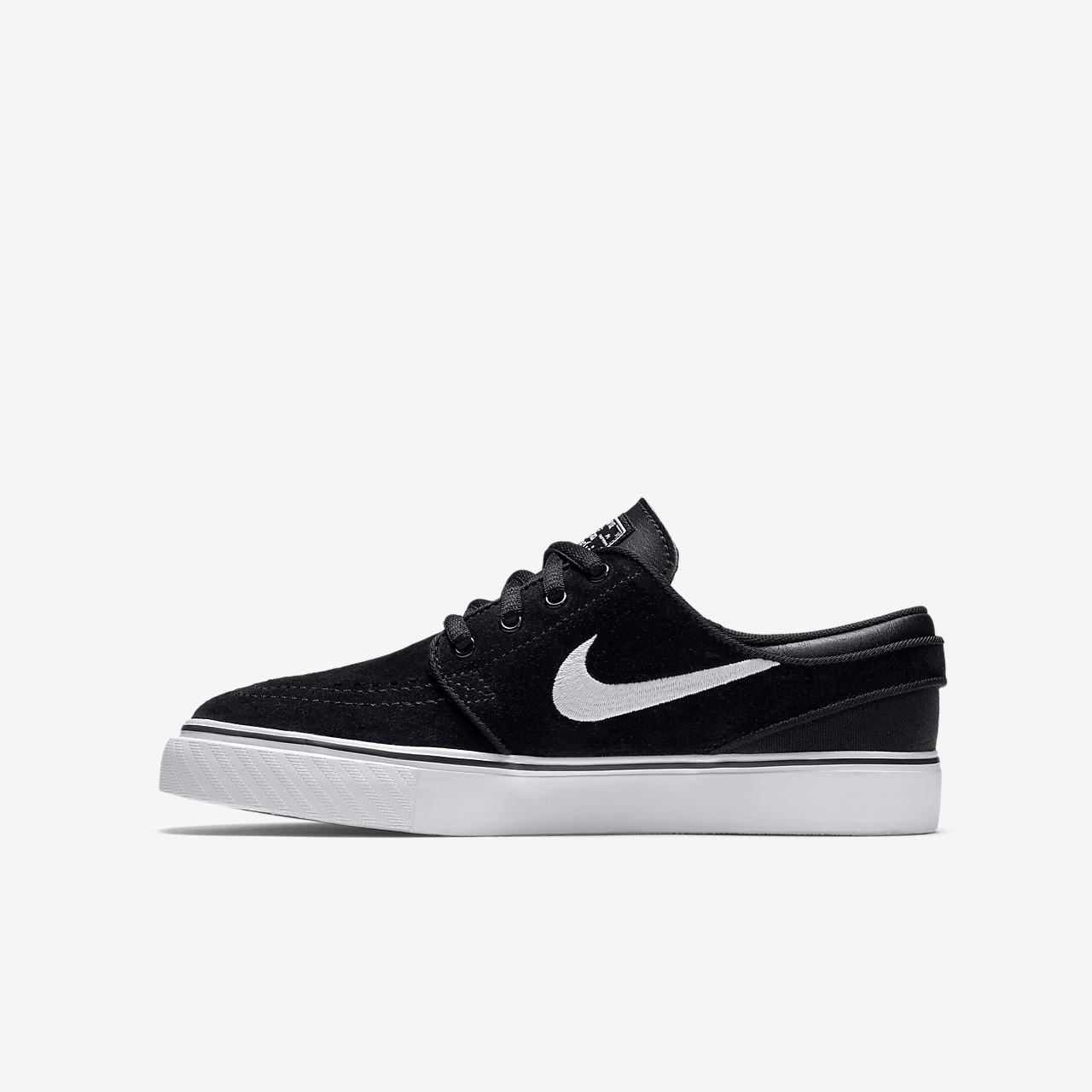 meet 07354 07135 Nike SB Zoom Stefan Janoski Older Kids  Skateboarding Shoe - Black Gum  Medium Brown White. Price  £35.95. Image 1