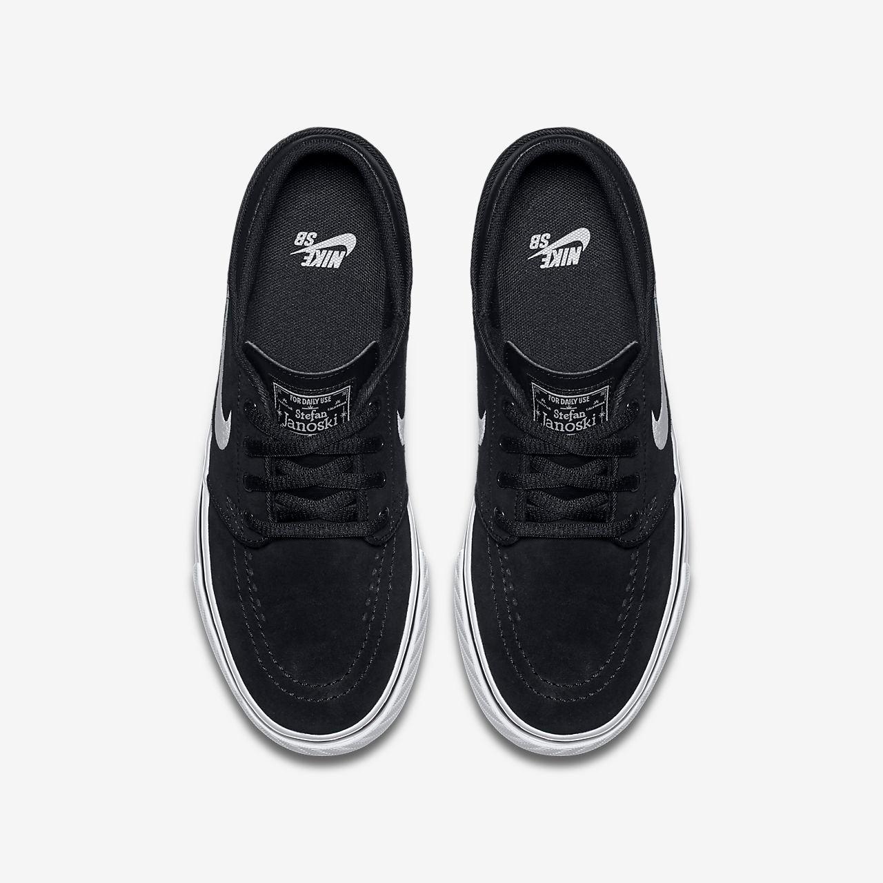 97483fbb93c47 Nike SB Zoom Stefan Janoski Older Kids' Skateboarding Shoe - Black/Gum  Medium Brown/White. Price: £35.95. Image 1. Larger / More Photos