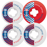 Ricta Naturals Skateboard Wheels 101a 52mm Chaz Ortiz