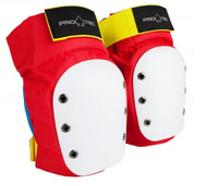 Pro-Tec Knee Pads Street - Adult - White - Old School