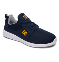 DC Shoe Co Heathrow Lightweight Mesh Shoes - Navy / Gold