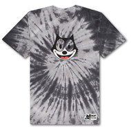 HUF X Felix The Cat Hypnotize Spiral Tee - Black